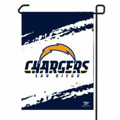 NFL San Diego Chargers Garden Flag by WinCraft. $10.30. NFL San Diego Chargers Garden Flag. Save 21% Off!