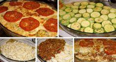 Líné lasagne - cuketová dobrota Pepperoni, Mashed Potatoes, Pizza, Ethnic Recipes, Food, Lasagna, Whipped Potatoes, Meal, Essen