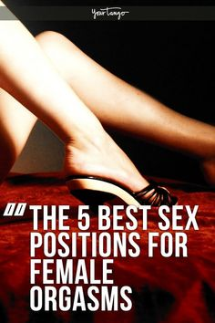 Best sex positions feet think, that