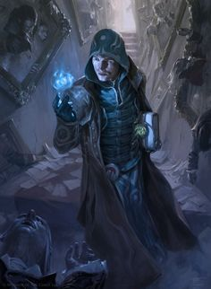 Jace, Unraveler of Secrets - Shadows over Innistrad Art