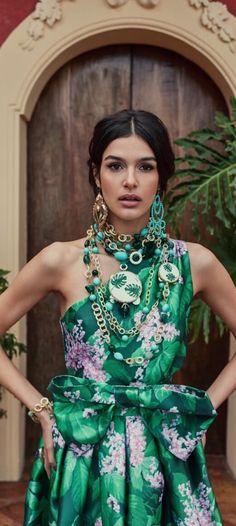Women S Fashion Kuala Lumpur Boho Fashion, Spring Fashion, Fashion Outfits, Womens Fashion, Fashion Trends, Boho Chic, Mexican Fashion, Tropical Dress, Daytime Dresses