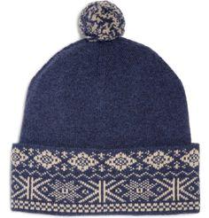 295ce9c1309 fair isle hat Knitted Animals
