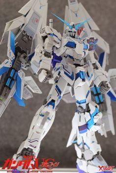 GUNDAM GUY: MG 1/100 Unicorn Gundam ANA Color - Customized Build