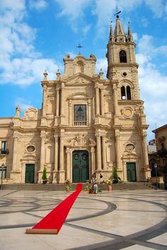 Church of Saint Dominic, Piazza San Domenico, Acireale, Sicily, Italy
