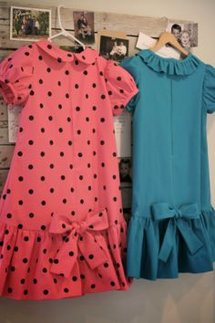 …Charlie Brown!     Dresses for Lucy Van Pelt and Sally Brown. What fun - we really loved the play!                        Lucy's dress may...