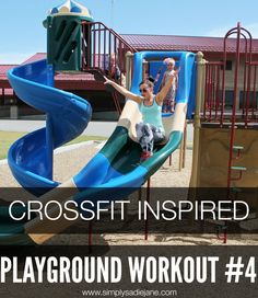 Crossfit Inspired Playground Workout