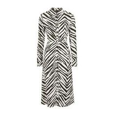 Zebra Shirtdress by Topshop