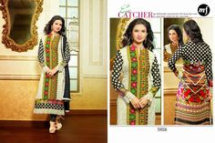 Designer long straight cut buy from #craftshopsindia
