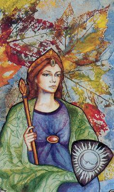 The Empress hudes Tarot