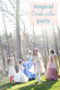 From fancy decorations, games, centerpieces, and desserts, your little girl will love this Cinderella-themed birthday party.