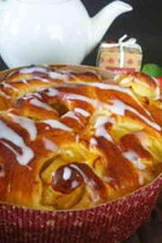 Apple bread - you want to - ★ secret of my home Fruit Recipes, Dessert Recipes, Desserts, Pastry Recipes, Bread Recipes, Japanese Bread, Cooking Bread, Apple Bread, Brot