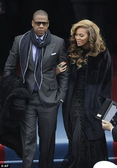 Jay-Z and Beyonce - Barack Obama Inaugration 2013 - Thank You..!!