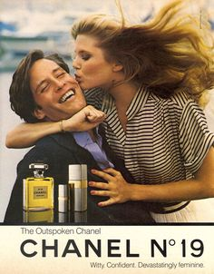 Chanel, mid 80sModel : Christie Brinkley