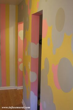 Mural for a children's playroom
