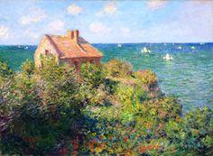 Клод Моне - Fisherman s  Cottage at Varengeville, 1882