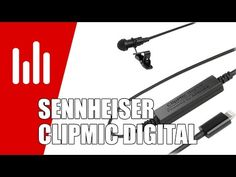Sennheiser ClipMic digital: Ansteckmikrofon für iOS mit Apogee-Wandler - http://www.delamar.de/musik-equipment/sennheiser-clipmic-digital-27791/?utm_source=Pinterest&utm_medium=post-id%2B27791&utm_campaign=autopost