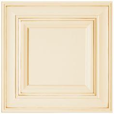 Shenandoah Mckinley 14.5625-In X 14.5-In Butterscotch Glaze Maple Raised Panel Cabinet Sample