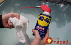 Nepatrí len do dielne! 11 neuveriteľne užitočných trikov s Car Cleaning Hacks, Car Hacks, Cleaning Solutions, Headlight Restoration Diy, How To Clean Headlights, 72 Hour Kits, Wd 40, Making Life Easier, Diy Cleaners