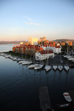 http://www.greeneratravel.com/ Travel Destination - Stavanger Harbour, Rogaland_ Norway http://tmiky.com/pinterest