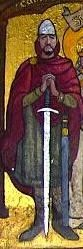 """MALCOLM III """"LONG NECK"""" KING OF SCOTLAND son of Duncan I King of Scotland  and Sybilla Fitzsiward of Northumbria. Malcolm's wife was Margaret Princess of England. Parents of King David """"I The Saint Scotland.  Malcolm killed Macbeth to avenge his father's murder."""