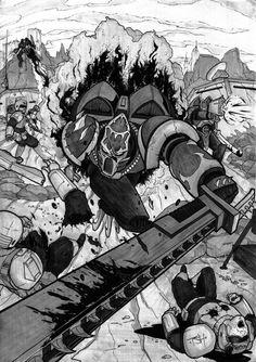 Warhammer 40000,warhammer40000, warhammer40k, warhammer 40k, ваха, сорокотысячник,фэндомы,Chaos (Wh 40000),Night Lords,undivided