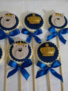 Pirulitos de Chocolate , Decorados e Personalizados de acordo com o tema da festa Quantidade Mínima : 15