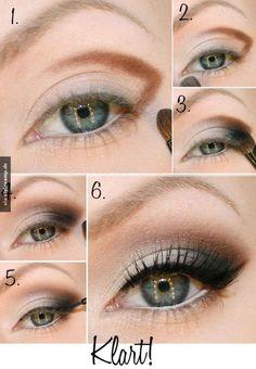 Zauberhafte Smokey Eyes mit Wow-Effekt