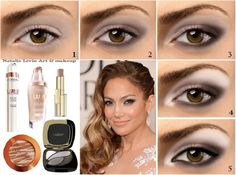 Jennifer Lopez Makeup Look - 15 Celeb-Inspired Makeup Tutorials to Copy Right Now | GleamItUp