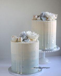 Raspberry cake and its verrine - HQ Recipes Elegant Birthday Cakes, Beautiful Birthday Cakes, Beautiful Cakes, Amazing Cakes, Blackberry Cake, Raspberry Cake, Gateau Baby Shower, Baby Shower Cakes, Boy Communion Cake