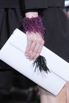 Dior - Dior Jewelry - Ideas of Dior Jewelry - Christian Dior Paris Spring 2014 Dior Fashion, Fashion Bags, Fashion Accessories, Fashion Jewelry, Club Fashion, 1950s Fashion, Women Accessories, Spring Summer, Spring 2014