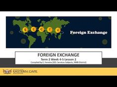 Gr 12 Tourism Foreign Exchange Lesson 2 - YouTube Foreign Exchange, Tourism, Education, Youtube, Turismo, Onderwijs, Learning, Youtubers, Travel