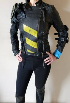 Apocalypse Jacket Real Leather Black mad max road by Vontoon