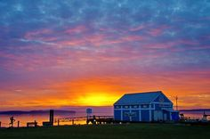 Sunrise in Sidney, BC