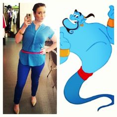 Genie, Aladdin | 39 Stylish People Who Are Secretly Disney Characters