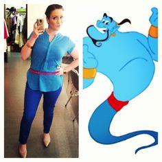 Genie, Aladdin   39 Stylish People Who Are Secretly Disney Characters