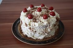 Schwarzwälder Kirschtorte [Springform, 20 cm] German Cake, Sweets, Cooking, Desserts, Food, Small Cake, Bakken, Sheet Cakes, Black Forest Cake