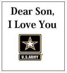 I love my son.