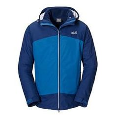 The Jack Wolfskin Frost Wave jacket is an exellent 3 in 1 jacket from the Jack Wolfskin Collection. The removable Fleece jacket is a Nanuk 200 Fleece, warm and wind resistant. 3 In 1 Jacket, Waves, Frost, Classic, T Shirt, Jackets, Blue, Track, Collection