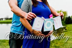 Baby Gender Reveal & Maternity  Brittany Gidley Photography  Cleveland, OH