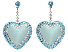 Designer Clothes, Shoes & Bags for Women Tarina Tarantino, A Perfect Day, Crystal Drop, Heart Jewelry, Swarovski Crystals, Dangle Earrings, Dangles, Electric, Jewels