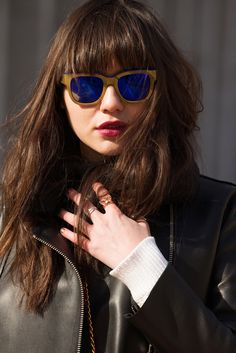 The Best Accessories Of NYFW #refinery29  http://www.refinery29.com/fashion-week-accessories#slide21  Etnia Barcelona Klein Blue Sunglasses, $271.63, available at Etnia Barcelona.