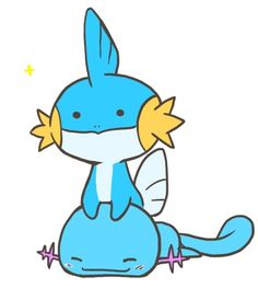 Mudkip: my favorite pokemon in the whole wide world :D