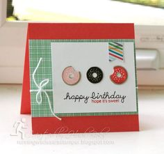 Sprinkles on Top Shoebox Card