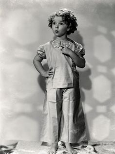 Shirley Temple ~ my mom looked like her as a young girl.