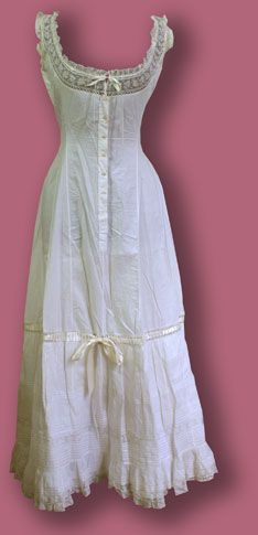 """""""Combinations"""" - camisole and petticoat"""