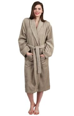 amazoncom terry cloth bathrobe shawl collar terry robe for women and - Terry Cloth Robe
