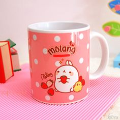 Molang mug #kawaii