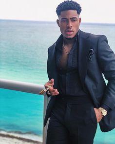 15 Dapper men's Easter Outfits in 2019 : Honcho Lifestyle Fine Black Men, Gorgeous Black Men, Handsome Black Men, Fine Men, Beautiful, Mode Masculine, Mens Fashion Suits, Mens Suits, Moda Formal