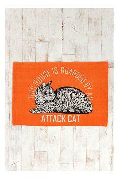 Attack Cat 2x3 Rug