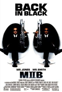 MEN IN BLACK II.  Director: Barry Sonnenfeld.  Year: 2002.  Cast:  Tommy Lee Jones, Will Smith and Rip Torn